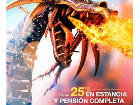 HASTA 25% DE DESCUENTO EN ESTANCIA Y PENSION COMPLETA
